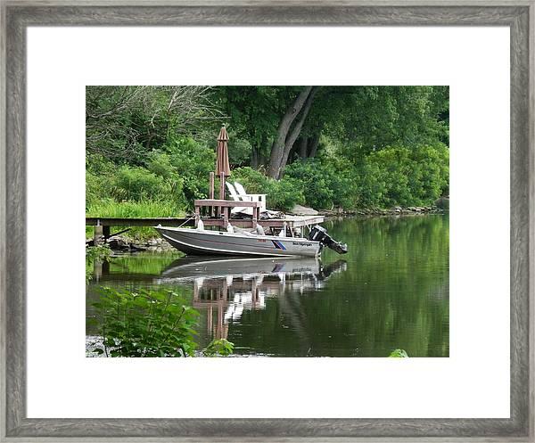 Mirrored Journey Framed Print