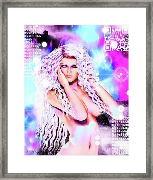 Miss Inter-dimensional 2089 Framed Print