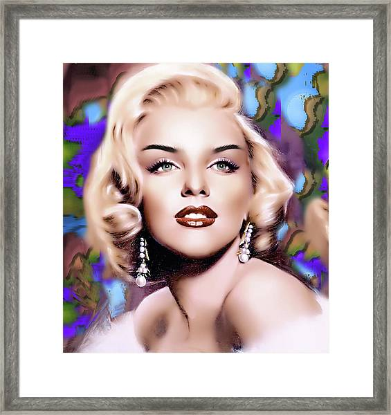 Miss Monroe Framed Print