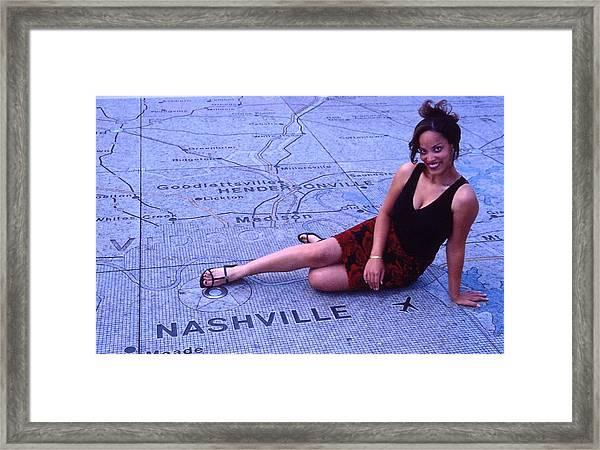 Miss Nashville Framed Print by Randy Muir