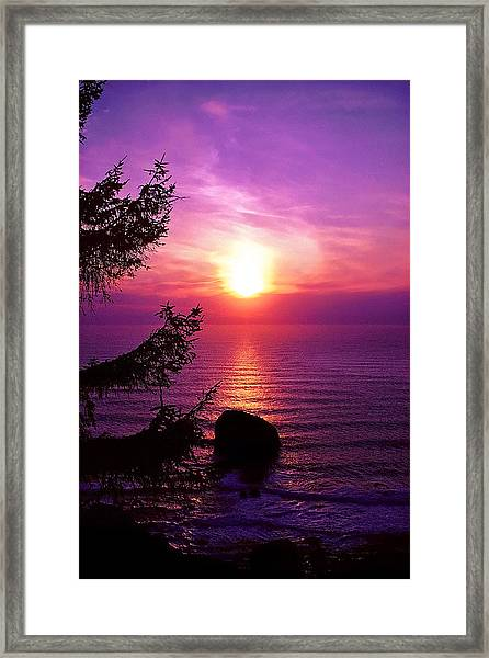 Miss You Already Framed Print