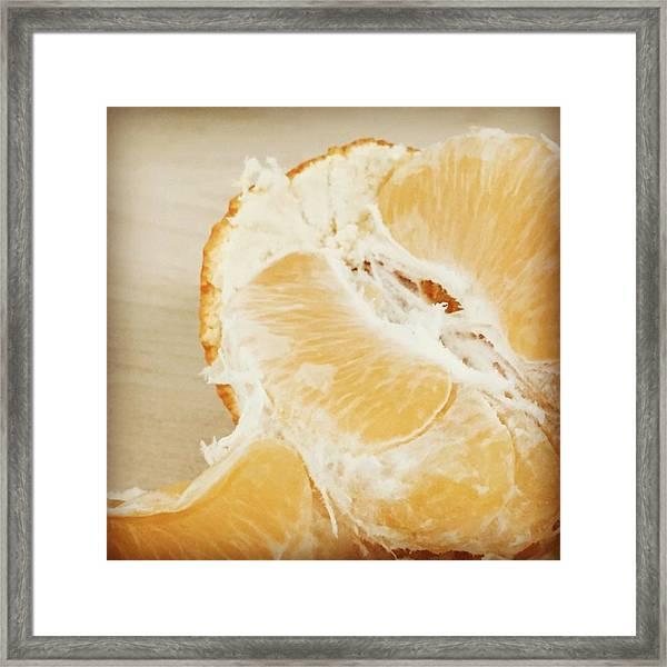 Tangelo Framed Print