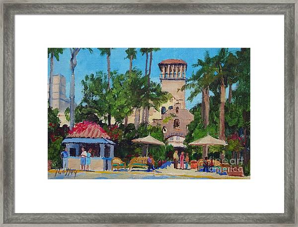 Mission Inn On A Sunny Day Framed Print
