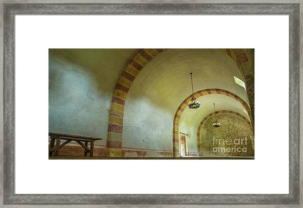 The Granary At Mission San Jose  Framed Print