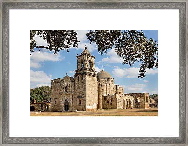 Mission San Jose Framed Print