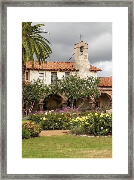 Mission San Juan Capistrano Framed Print