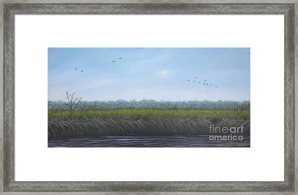 Missiquoi Refuge Framed Print