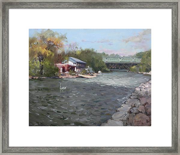 Mississauga Canoe Club Framed Print