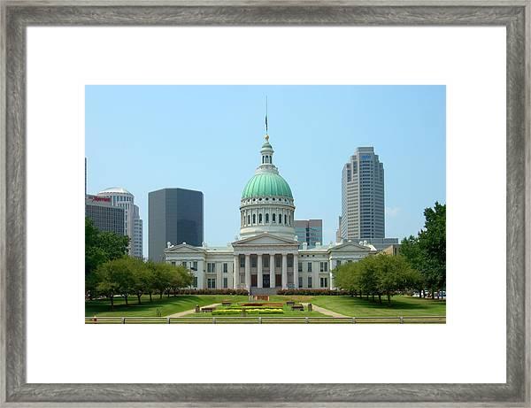 Missouri State Capitol Building Framed Print
