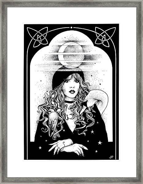 Mistress Of My Faith Framed Print