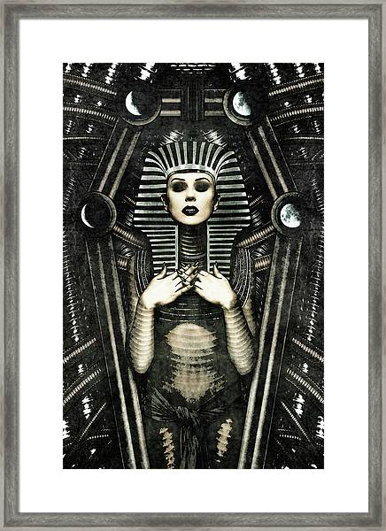 Mistress Of The House Framed Print