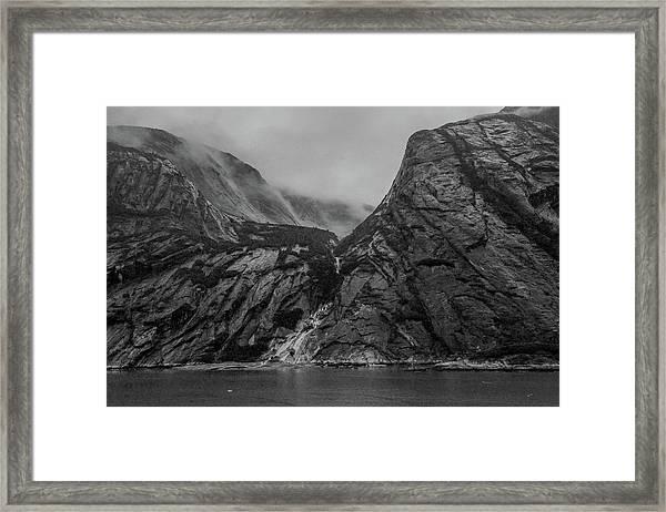 Misty Fjord Framed Print