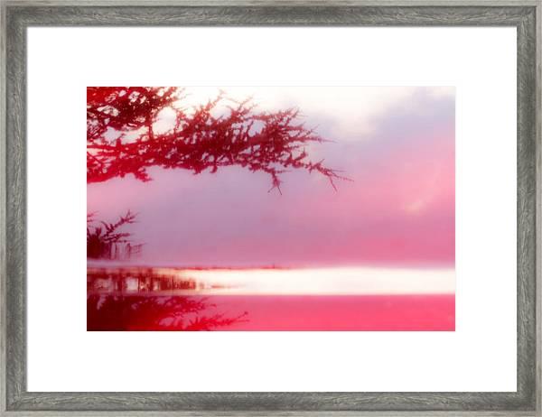 Misty Morn Framed Print