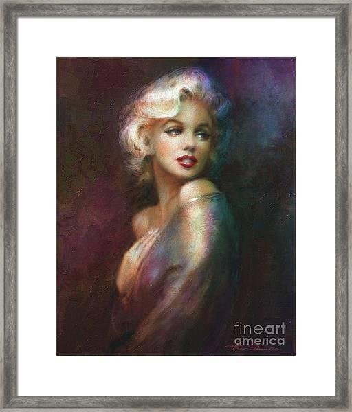 Mm Ww Colour Framed Print