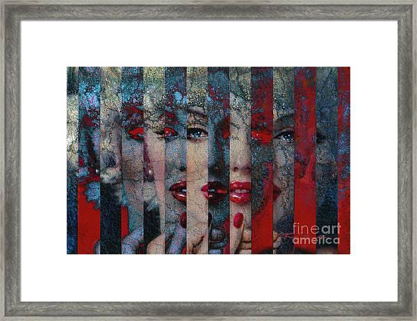 Mmarilyn 132 Sis Framed Print