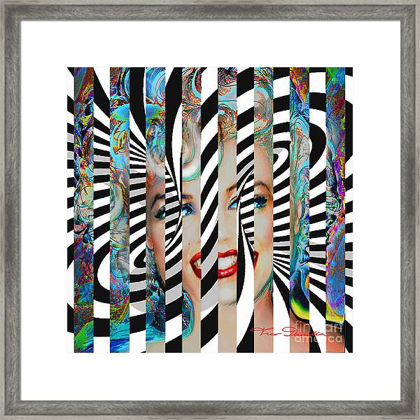 Mmother Of Pearl Sis 3 Framed Print
