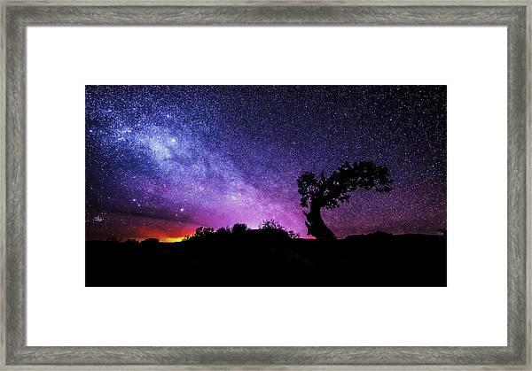 Moab Skies Framed Print