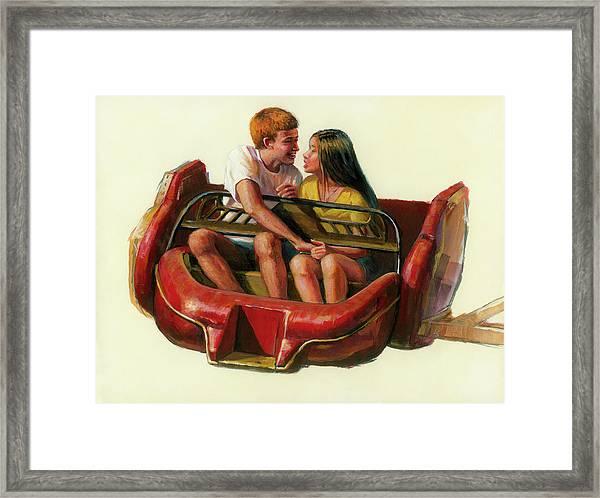 Mobile Manners Framed Print