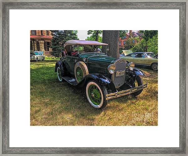 1928 Model A Ford  Framed Print