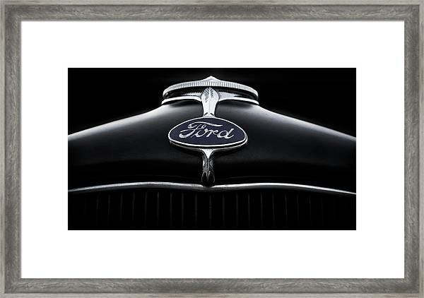 Model A Ford Framed Print