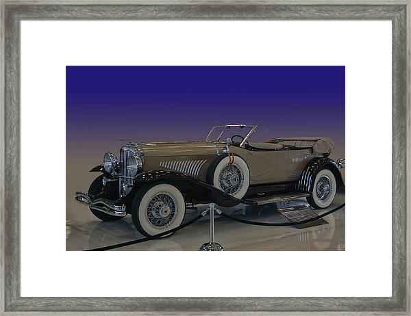 Model J Lebaron Phaeton Framed Print