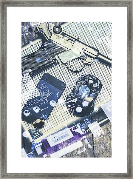 Modern Agency Warfare Framed Print