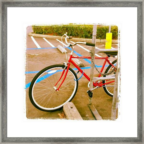 Modern Transportation As Seen At The Framed Print
