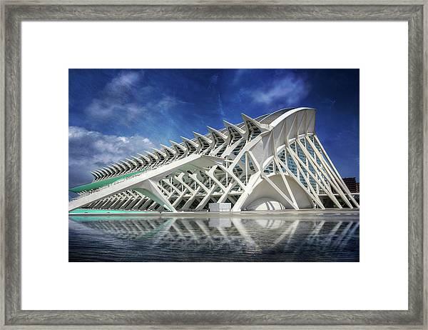 Modern Valencia  Framed Print by Carol Japp