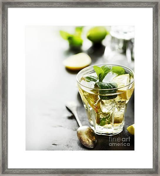 Mojito Framed Print