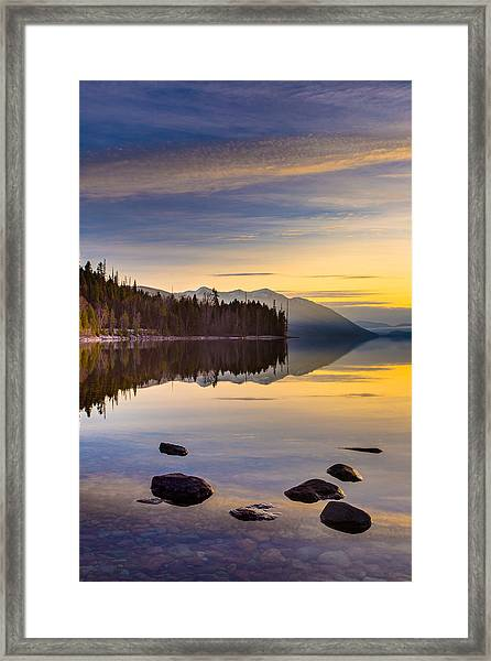 Moment Of Tranquility Framed Print