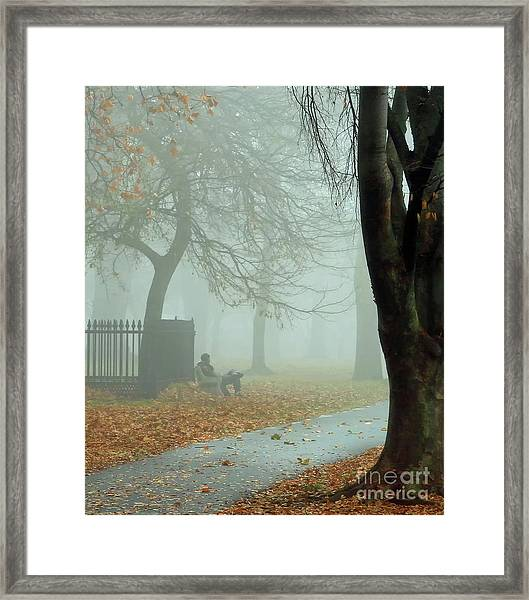 Moments Alone Framed Print
