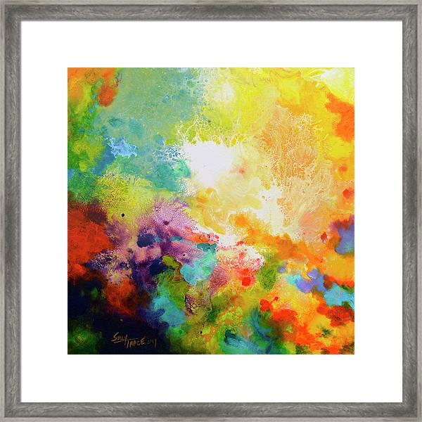 Momentum, Canvas One Framed Print