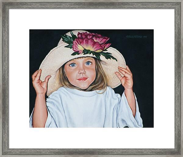 Mommy's Hat Framed Print