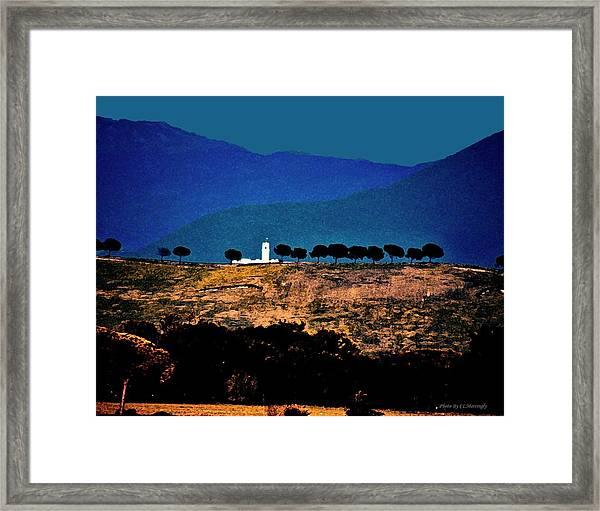 Monastery In Italy Framed Print
