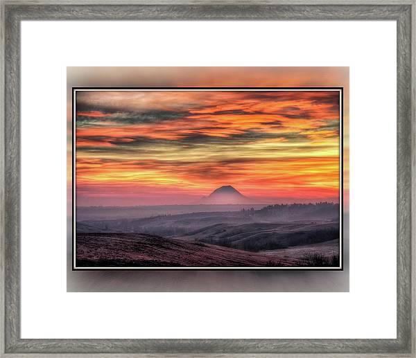 Monet Morning Framed Print