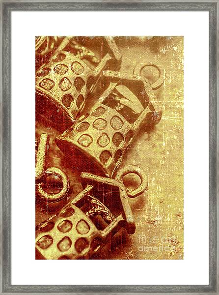 Monetary Wells Framed Print