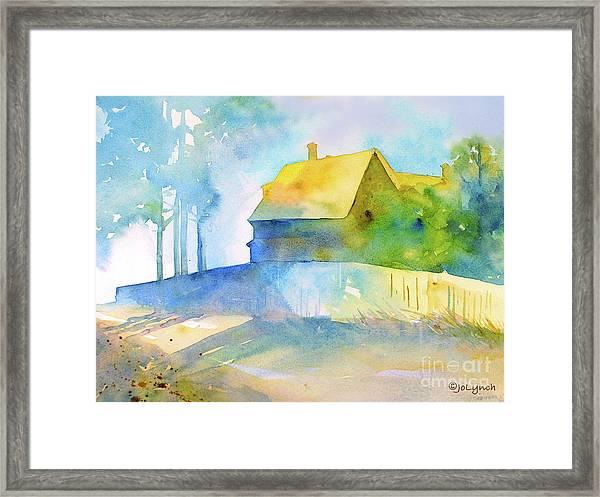 Monhegan Island Morning Framed Print