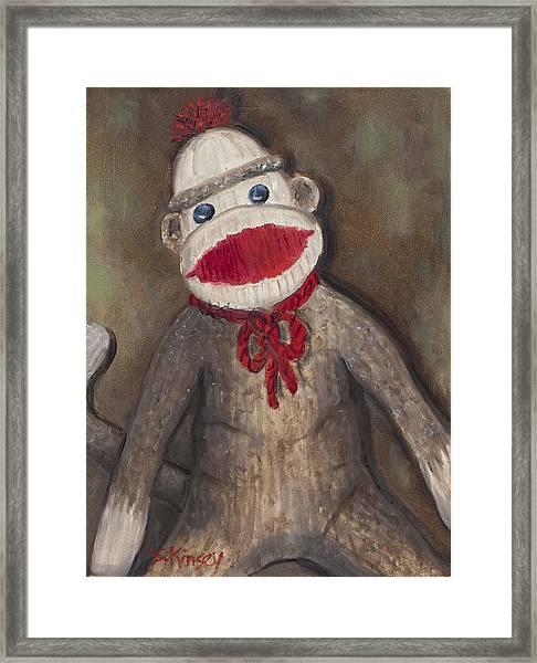 Monkey Business Framed Print by Sheila Kinsey