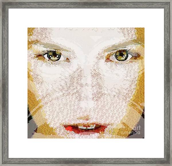 Monkey Glows Framed Print