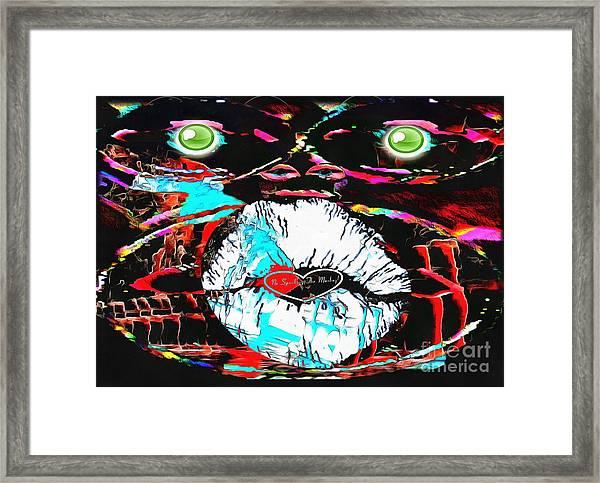 Monkey Works Framed Print