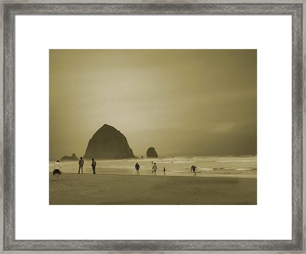 Monolith Mood Framed Print