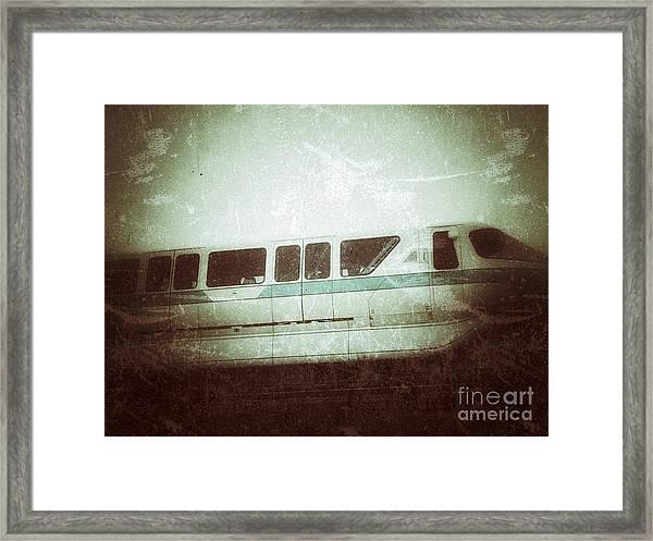 Monorail Framed Print