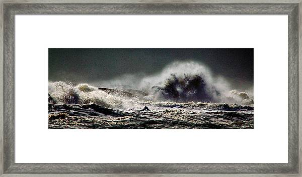 Monster Of The Seas Framed Print