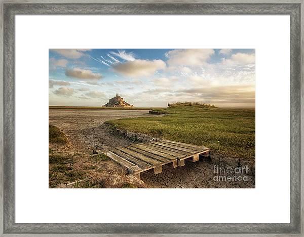 Mont Saint-michel's Bay Framed Print