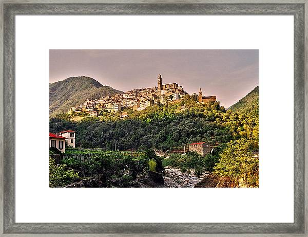 Montalto Ligure - Italy Framed Print