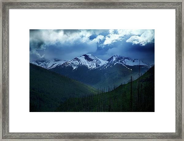Montana Mountain Vista #2 Framed Print