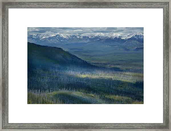 Montana Mountain Vista #3 Framed Print
