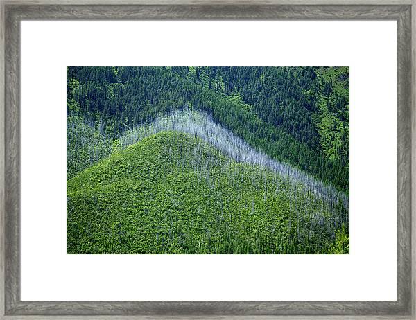 Montana Mountain Vista #4 Framed Print