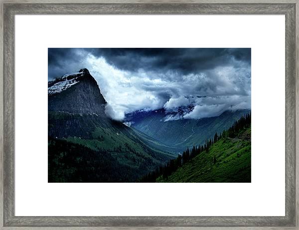Montana Mountain Vista Framed Print