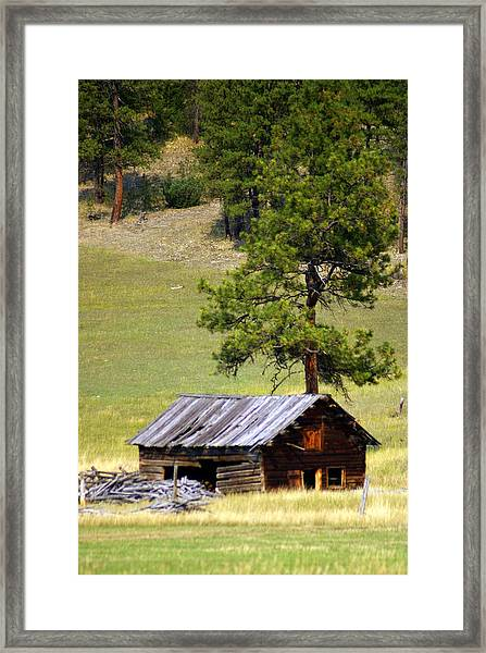 Montana Ranch 2 Framed Print